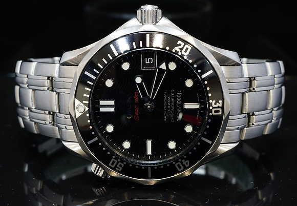 OMEGA 2009 36mm Seamaster, MINT, 2123036201001, Box & Papers