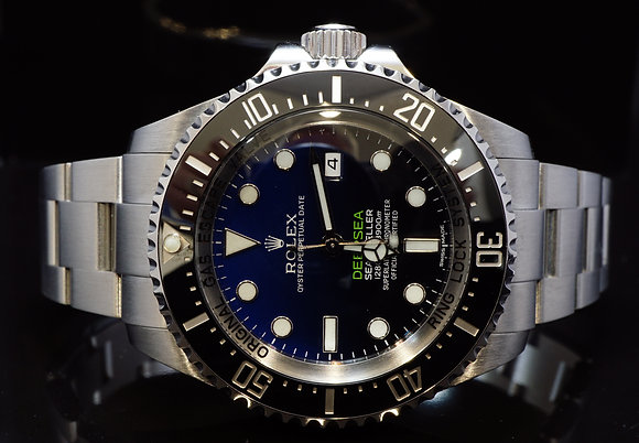 ROLEX 2015 Deep Blue, Deepsea James Cameron, 116660, MINT, Box & Papers