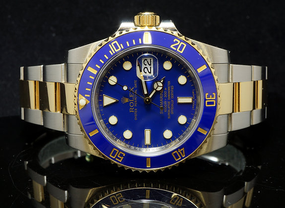 ROLEX Steel & Gold Submariner, 2011, Box & Papers