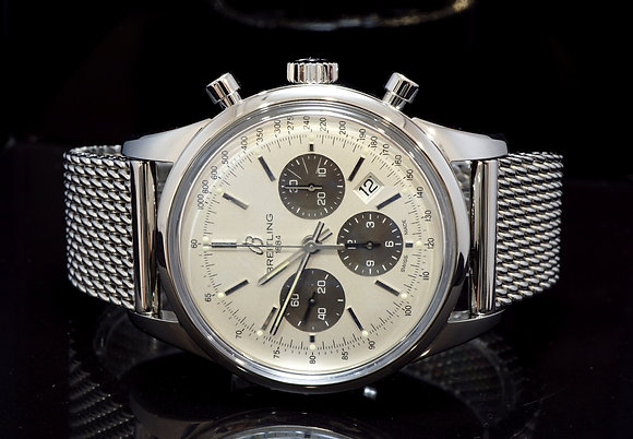 BREITLING 2012 Transocean Chronograph, AB015212, Box & Papers