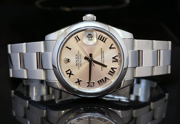 ROLEX 178240, 31mm Datejust, Steel, 2013, Box & Papers