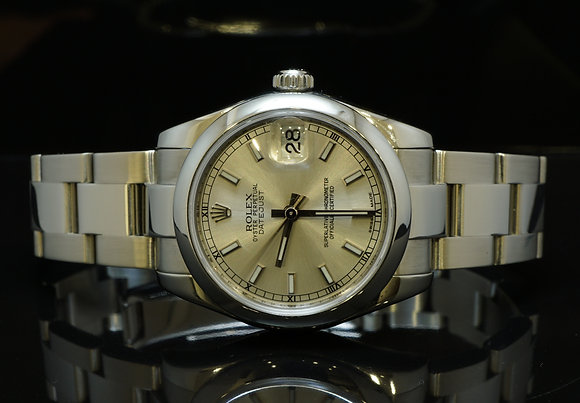 ROLEX 2008 31mm Datejust, Steel, 178240, MINT,Box & Papers