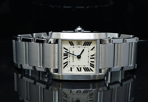 CARTIER Tank Francaise, Mid Size, MINT, Boxed