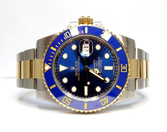 ROLEX 2014 Submariner 40, 116613LB, Steel & Gold, Box & Papers
