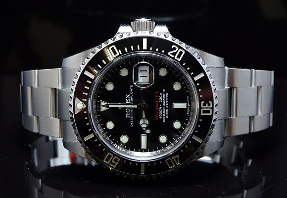 ROLEX 2017 Unworn Sea-Dweller, New Style, 126600, Box & Papers