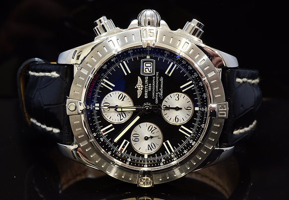 BREITLING 2008 UNWORN Chronomat Evolution, A13356, Box & Papers