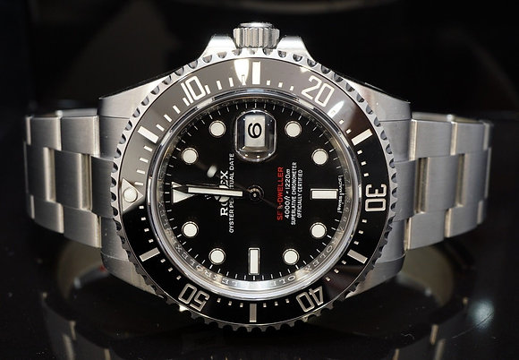 ROLEX 2018 Sea-Dweller, UNWORN, Fully Stickered, 126600, Box & Papers