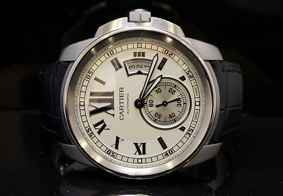 CARTIER Calibre, 2010, 42mm, MINT, W7100037, B&P
