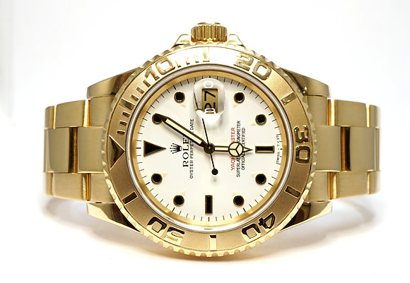 ROLEX 1994 Yacht-Master 40 18ct Yellow Gold, 16628, Rolex Service, Box & Papers