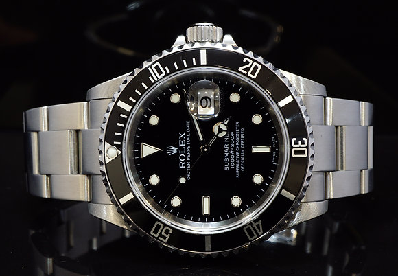 ROLEX 2006 Submariner Date, Steel, 16610, MINT, Box & Papers
