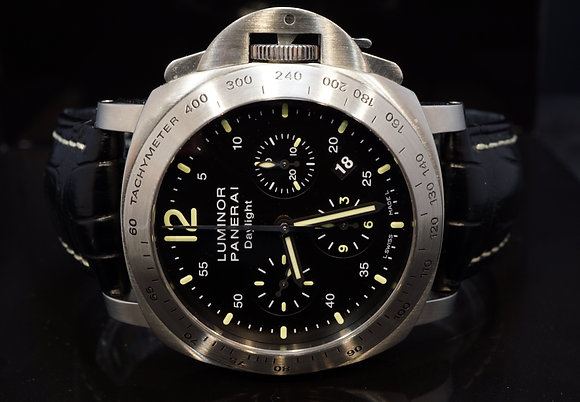 PANERAI 2011 Daylight Chronograph, PAM00250, Serviced, Box & Papers