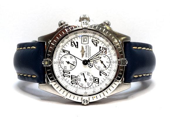 BREITLING Chronomat, A13350, Blue Calf Strap, Boxed