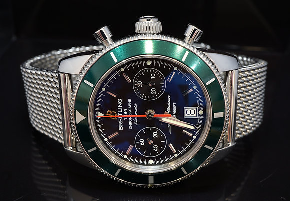BREITLING 2016 44mm SuperOcean Heritage Chronograph, A23370, Box & Papers