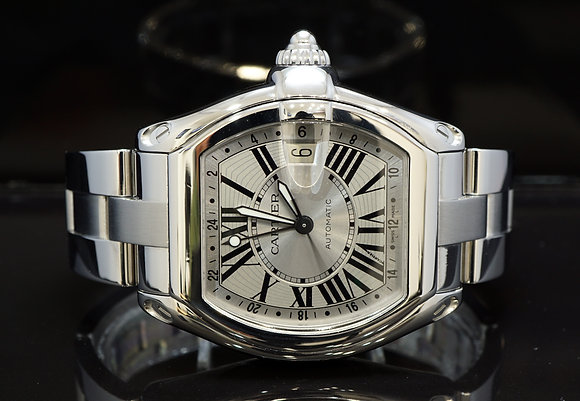 CARTIER 2009 Roadster GMT, 2722, Auto, MINT, with Papers