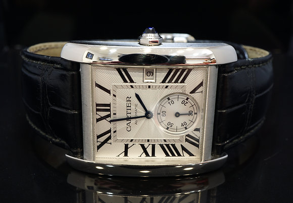 CARTIER Tank MC, Automatic, W5330003, Box & Papers