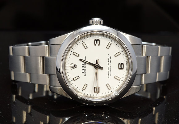 ROLEX 2009 31mm Oyster Perpetual, 177200, MINT, Box & Papers