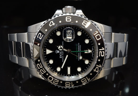 ROLEX 2013 GMT Master II, Steel, 116710LN, Box & Papers