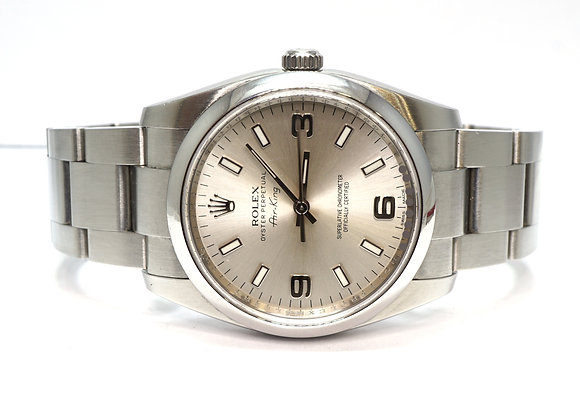 ROLEX 2012 Oyster Perpetual Air-King 34, 114200, Box & Papers
