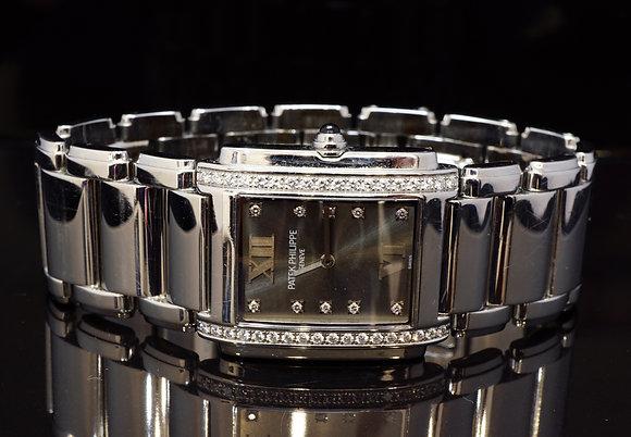 PATEK PHILIPPE Twenty4, Steel, Diamond Case & Dial
