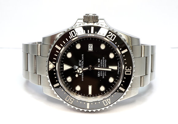 ROLEX 2015 Sea-Dweller 4000, 116600, SD4000, MINT, Box & Papers