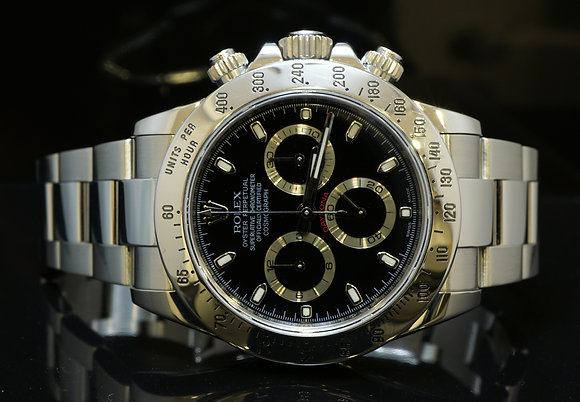 ROLEX 2010 Daytona, Stainless Steel, MINT, 116520, Box & Papers