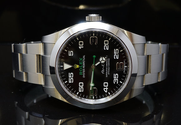 ROLEX 2016 Air-King, Steel,116900, MINT, Box & Papers