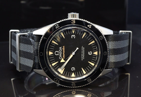 "OMEGA 2016 Seamaster ""Spectre"" 007, Co-Axial, 23332412101001, B&P"