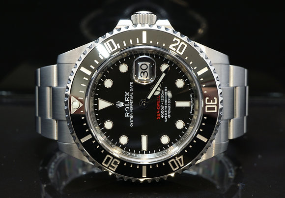 ROLEX 2017 Sea Dweller SD43, 126600, Mark 1 Dial, Box & Papers