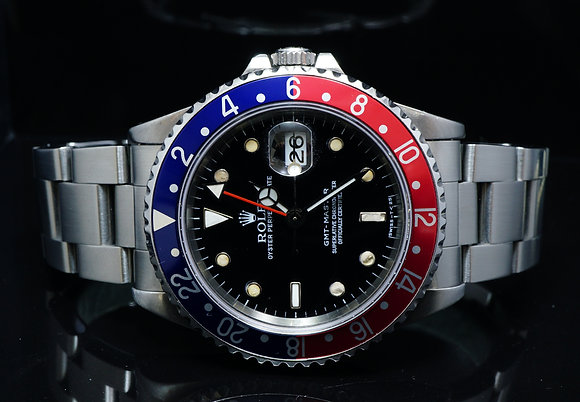 "ROLEX 1997 GMT Master ""Pepsi"", 16700, MINT, Boxed"
