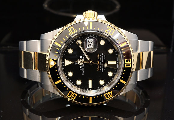 ROLEX 2019 Sea-Dweller SD43 Steel & Gold, 126603, Box & Papers