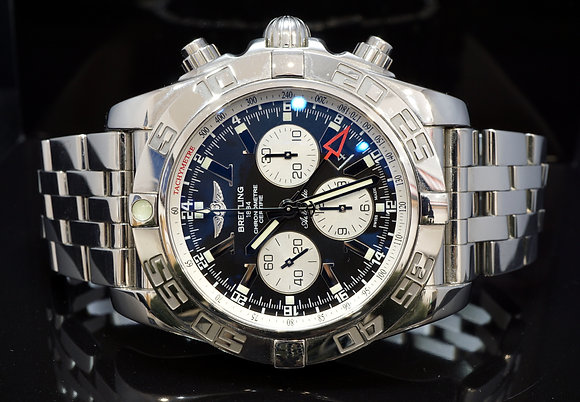 BREITLING 2011 47mm Chronomat GMT, AB0410, Boxed