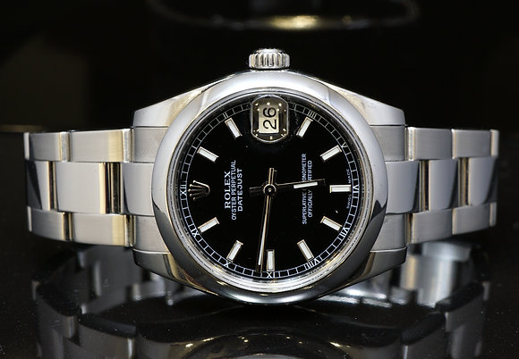 ROLEX 2010 31mm Datejust, Steel, 178240, MINT, Boxed