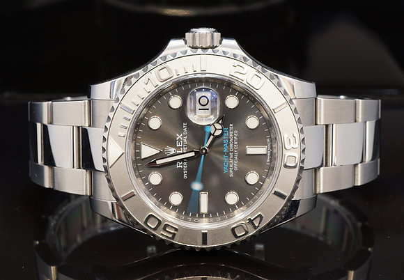 ROLEX 2018 Yacht-Master 40, Rhodium Dial, 116622, Box & Papers