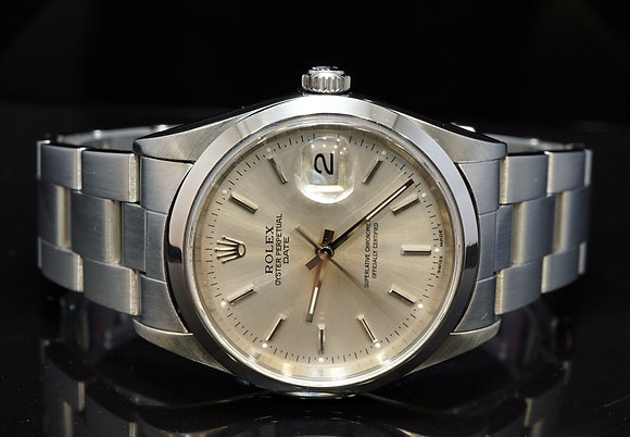 ROLEX 1999 34mm Date, Steel, 15200, MINT, Oyster Perpetual, Boxed