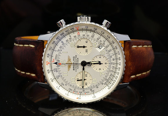 BREITLING 2008 Navitimer, Steel, A23322, Box & Papers