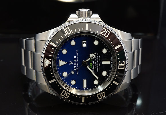 ROLEX 2019 Deepsea James Cameron, Sea Dweller, 126660, D-Blue, Box & Papers
