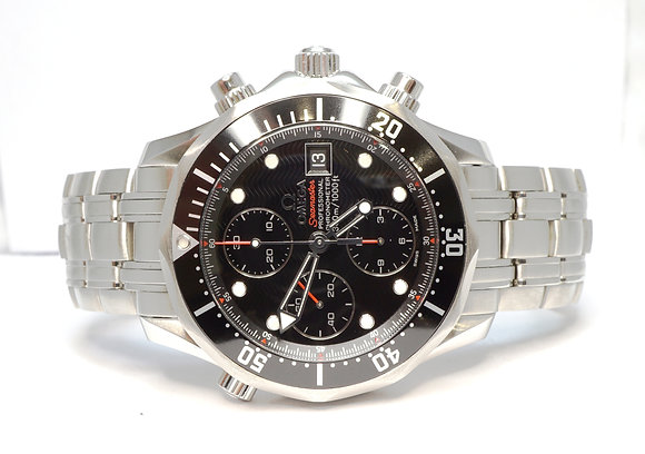 OMEGA 2013 Seamaster Chrono, 21330424001001, UNWORN, Box & Papers