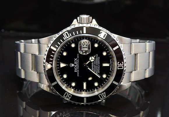 ROLEX 2009 Submariner Date, 16610, MINT, Box & Papers