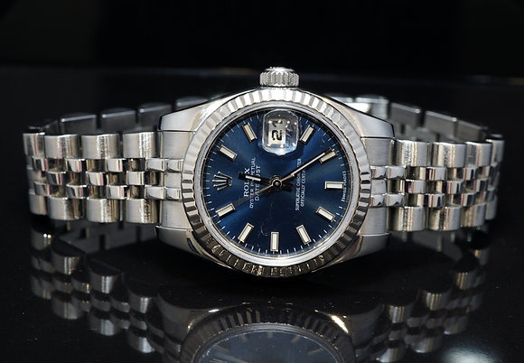 ROLEX 2009 26mm Datejust, Steel, 179174, Box & Papers