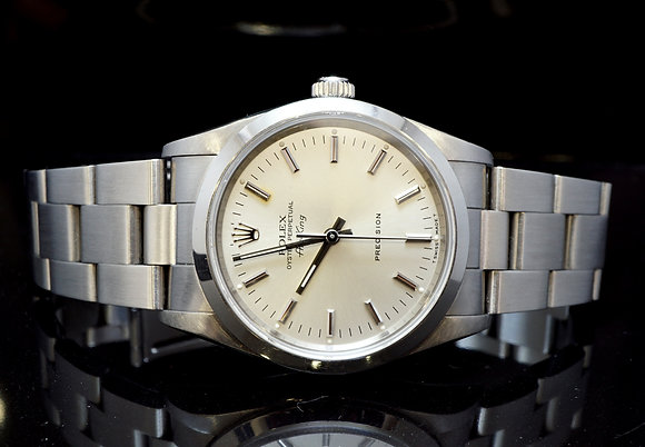 ROLEX Air-King, Steel, 14000, Mint, Boxed