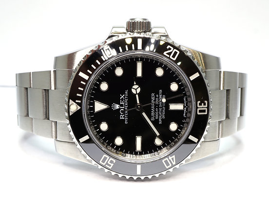 ROLEX 2017 Submariner Non Date, 114060, Box & Papers