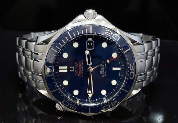 OMEGA 2016 41mm Seamaster Ceramic, 21230412003001, Box & Papers