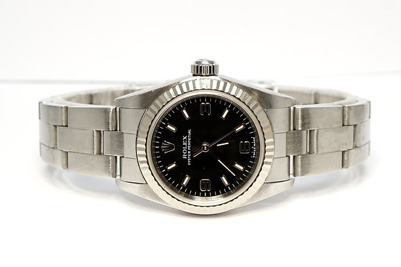 ROLEX 2002 Oyster Perpetual 26, 76094, Box & Papers