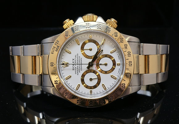ROLEX Daytona, Steel & Gold, 16523, ZENITH Movement