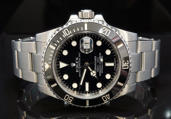 ROLEX 2013 Submariner, Steel, 116610LN, Box & Papers