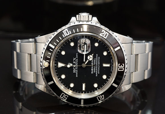 ROLEX 1987 Submariner Date, 16800, Transitional Model, RARE, Boxed