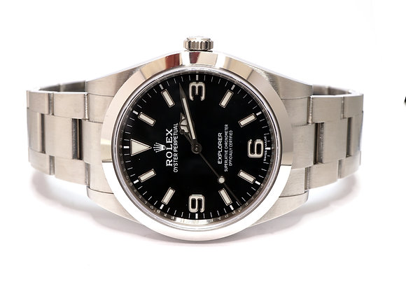 ROLEX 2020 Explorer 39, 214270, New Style Card, Box & Papers