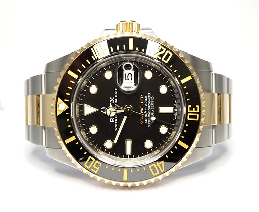 ROLEX 2020 Sea-Dweller SD43, 126603, Steel & Gold, Box & Papers