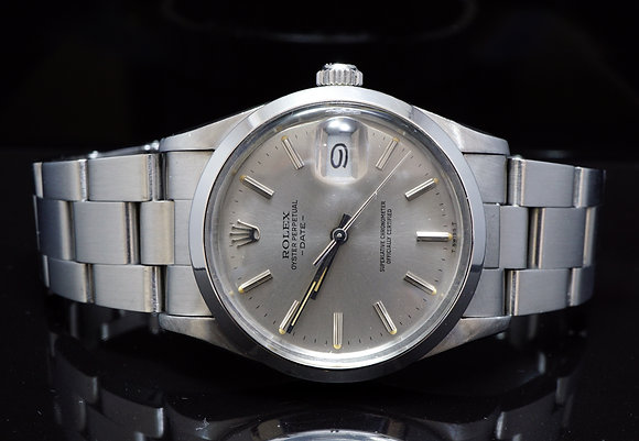 ROLEX 1982 34mm Date, 15000, MINT, Box & Papers