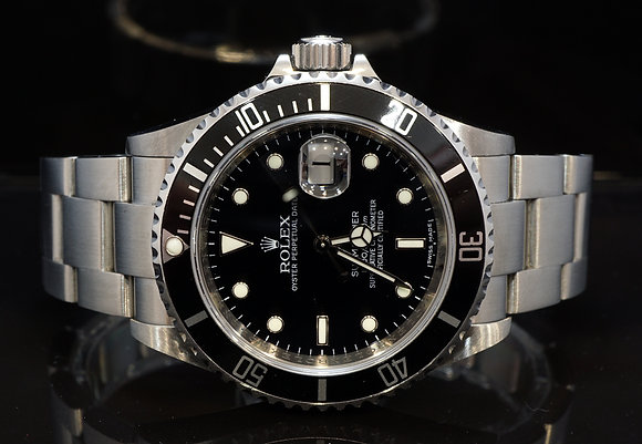 ROLEX 2008 Submariner Date, Steel, 16610, Box & Papers